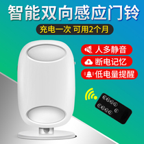 Shop into the store welcome to the sensor supermarket business welcome voice two-way welcome intelligent doorbell door