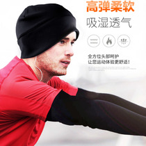 New autumn and winter wind-proof warm outdoor sports cap cycling ski cap mens and womens cap grab velvet cap running cap