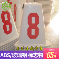 Yun Cheng Abs FRP Road sub-pier track and field runway split card barrier sign Road sub-card
