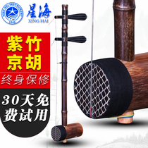 Beijing Xinghai 8701P popularity of Zizhu jinghu bamboo rod jinghu twist axis skin erhu jinghu send piano box