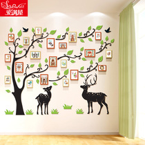 Culture Wall acrylic 3D stereo living room photo wall photo wall decoration wall photo frame creative personality self-adhesive