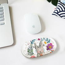 MZao cartoon cute sponge elbow pad students dedicated mouse computer office wrist care mouse pad hand care