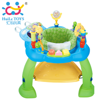 Huile 696 multi-function jump chair baby jump chair music fitness rack baby 6-12 months baby toys.
