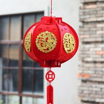 Balcony New Years Day spring Festival size red pendant outdoor decorations wedding wedding 2019 hanging year pendant lantern