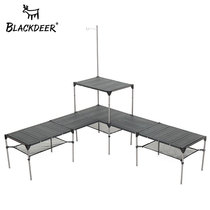Black Deer outdoor folding table outdoor camping picnic table self-driving lightweight aluminum alloy portable small table