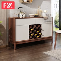 Feiyi Xuan Nordic solid wood dining cabinet dining cabinet locker multi-functional economy Bowl cabinet F8676c