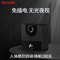 Forsafe infrared night vision motion detection camera body-sensing small monitor home video recorder