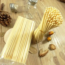 Bamboo sticks batch 15cm * m disposable string string incense small bamboo sticks barbecue spicy frying tools supplies