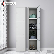 Single door locker removable iron cabinet for wardrobe staff dormitory lockers with lock storage cabinet shoe cabinet wardrobe