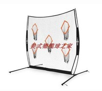 Rugby four quarterback short pass practice Network bownet QB5 Portable Four Point practice network