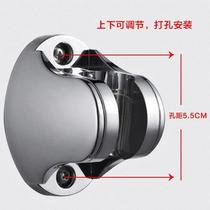 Shower rain base adjustable angle need to punch accessories Hand-spray hose retainer wall support