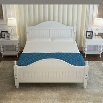 Solid wood bed 1 8 M modern minimalist bedroom double bed 1 5 rental homeowner sleeper single bed adult 1 2m bed frame