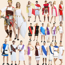 Halloween party costume cos Roman Greek goddess costume men and women adult Zeus samurai clothes