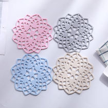 (Multiple installed)insulation pad Table Pad thickened silicone Flower Bowl pad pad pot coaster coaster anti-skid anti-hot pad