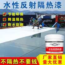 Tiger Eagle insulation paint roof waterproof insulation coating housing top floor metal asphalt iron cement sunscreen material