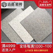 Far Crystal tiles terrazzo full body gray floor tiles anti-skid wear Nordic Wind Restaurant Store background wall wall tiles