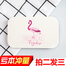 SPCQ diatomite soap box drain natural waterproof soap box bathroom toilet creative soap pad soap holder