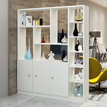 Simple modern living room entrance cabinet partition Hall cabinet wine cabinet hall screen cabinet shoe cabinet storage storage display cabinet