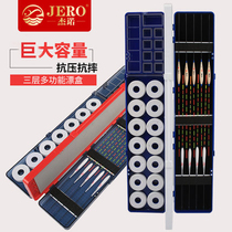 Jano three-layer multi-function floating box box Main Line box fish line box fish drift box fishing tackle box fishing supplies