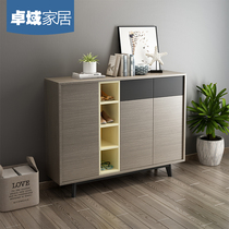 Zhuo Domain Nordic simple modern multi-function living room assembly Hall cabinet with door storage in the door shoe cabinet