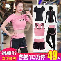 Autumn and winter Yoga suit set women 2018 new professional sports running gym beginner quick-drying network red