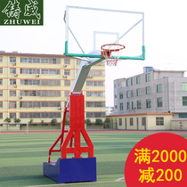Casting Wei genuine mobile Standard basket-ball imitation basket-ball hydraulique extérieur basket-ball pour adultes standard de lécole