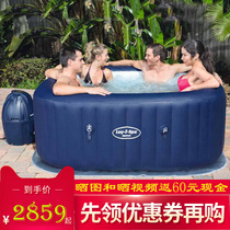 Jacuzzi inflatable swimming pool spa bathtub family hot spring Jacuzzi heated heated wave pool