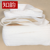Curtain cloth belt accessories White narrow cloth belt narrow drawstring two-wire trolley belt curtain decoration s1gkjxIvko