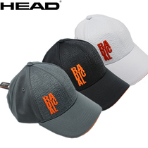 HEAD Hyde men and women tennis cap sports no top visor hat comfortable breathable