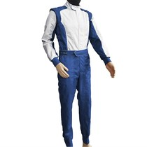 High-end atmosphere on the grade blue glossy VOLSON Siamese racing suit team kart car drift suit