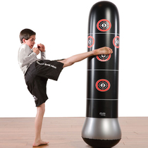Childrens boxing sandbag glove set does not fall the child loose taekwondo training home vertical fitness sandbag