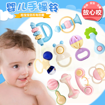 Newborn baby toys bed Bell 0-1 years old toys 3-6-12 months baby music bed hanging rattles bedside Bell