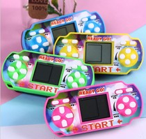 Childrens educational toys Tetris game classic nostalgic pocket small game machine stall goods