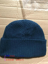 Yingshuo new ground winter knitted hat empty blue plus fluff line cap fleece cotton cap male outdoor knit cap men and women