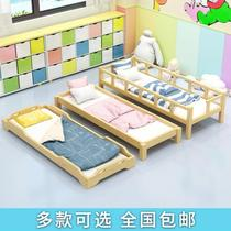 Child care lunch break nap bed lunch class special bed student baby bed training class children auxiliary classes simple wood