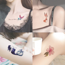 Tattoo stickers waterproof women lasting ins wind sexy clavicle ankle small fresh net red stickers are not permanent 1 year