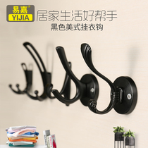 Yi Jia door rear hook dormitory bed head hanging clothes hook wall hanging clothes hook wall hanging clothes hook wall coat hook