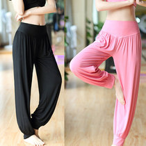 Summer loose practice pants yoga clothes Lantern pants fitness female square dance clothing belly dance pants tai chi