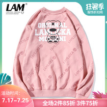 2019 spring and autumn new letter printing sweater mens Tide brand hip-hop loose students couple round neck long-sleeved T-shirt
