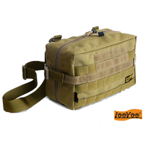 Road Tour A76 large molle accessories package accessories package EDC shoulder bag leisure travel bag military specifications nylon