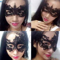 Sexy hollow Lace Eye Mask nightclub mask sexy underwear couple passion supplies night fire uniform accessories female