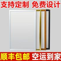 Ultra-thin led publicité light box indoor single-sided card wall-mounted tea shop suspension carte menu display Marque personnalisée