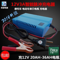 12v20ah charger 12v20 an electric car battery battery charger Youxin 3A intelligent repair universal