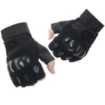 Special forces Black Hawk half finger tactical gloves male outdoor sports fitness training riding long finger gloves non-slip wear