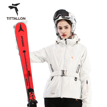Tittallon body top ski suit women PHYLEX four-directional elastic warm professional ski wear.