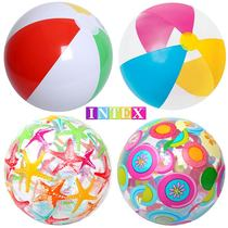 New INTEX inflatable beach ball children play water toy ball adult water pool water polo handball early education