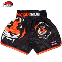 Thai Tiger Muay Thai shorts gym training suit UFC mixed martial arts fight boxing shorts Sanda MMA