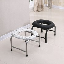 Female potty chair indoor room stool toilet seat splash-proof elderly toilet stool lady with dorm contraction
