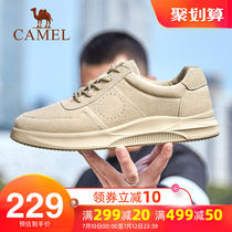 Camel mens shoes summer 2019 casual shoes tide shoes Martin shoes mens sports shoes Korean wild tooling shoes