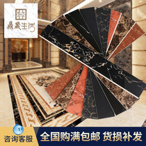 Baseboard tiles concealed foot Line stickers foot line living room marble waveguide line to the corner edge line Wave line waist